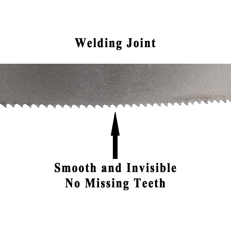 Imachinist S64514 Bi-metal Bandsaw Blades 64-1//2 X 1//2 1638mm 13mm X 14tpi for Cutting Metal
