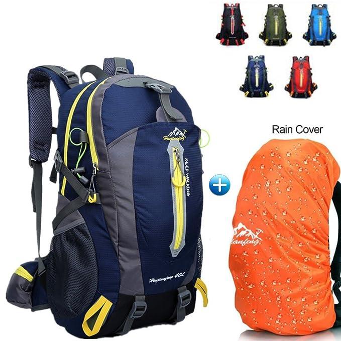 1 opinioni per BLF Zaino da escursionismo impermeabile, capacità 40 litri, zaino da trekking,