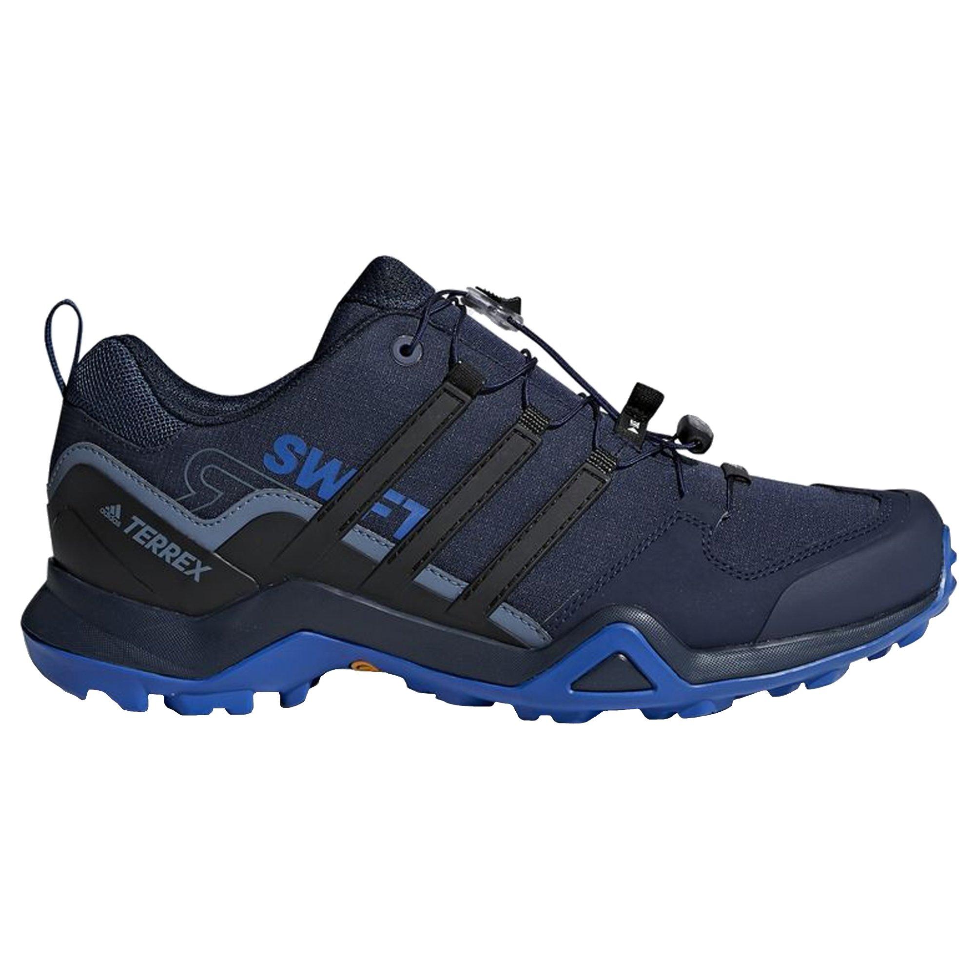adidas New Men's Terrex Swift R2 Hiking Shoe Blue/Black 12