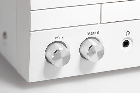 Kenwood M-820DAB Home audio micro system White,Wood 50 W