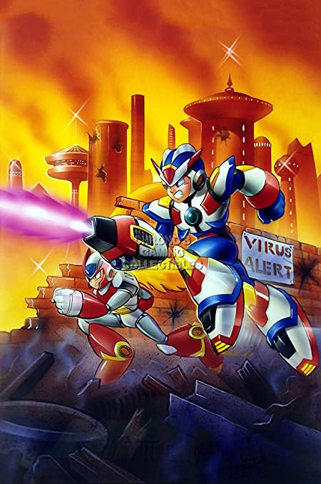 Amazon com: CGC Huge Poster GLOSSY FINISH - Mega Man X3 Art