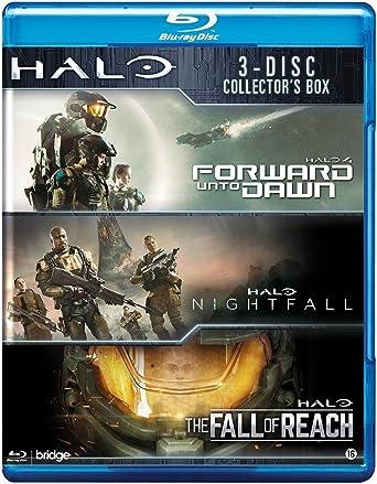 Halo Box Halo 4 Forward Unto Dawn Halo Nightfall Halo The Fall Of Reach Amazon Co Uk Dvd Blu Ray