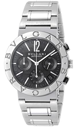 buy online c33fc 2b3dc Amazon | [ブルガリ]BVLGARI 腕時計 BB38BSSDCH ブルガリ ...