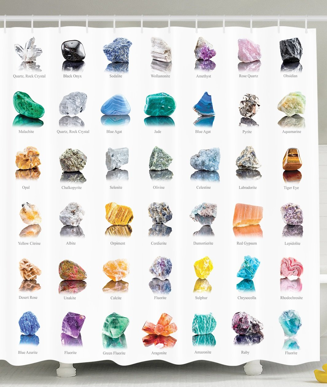 Amazon.com: Rocks Gemstones with Names Semi Precious Stones Magic ...