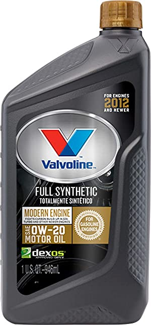 Valvoline Modern Engine SAE 0W-20 Full Synthetic Motor Oil 1 QT