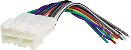 [XOTG_4463]  Amazon.com: Scosche GM02B Wire Harness to Connect An Aftermarket Stereo  Receiver for Select 1988-2005 GM Vehicles: Car Electronics | Gm Aftermarket Wiring Harness |  | Amazon.com