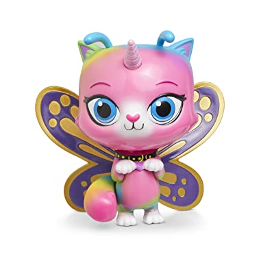 RBUK Rainbow Butterfly Unicorn Kitty Groovin Heads Butterfly Bobble-Head Toy: Toys & Games