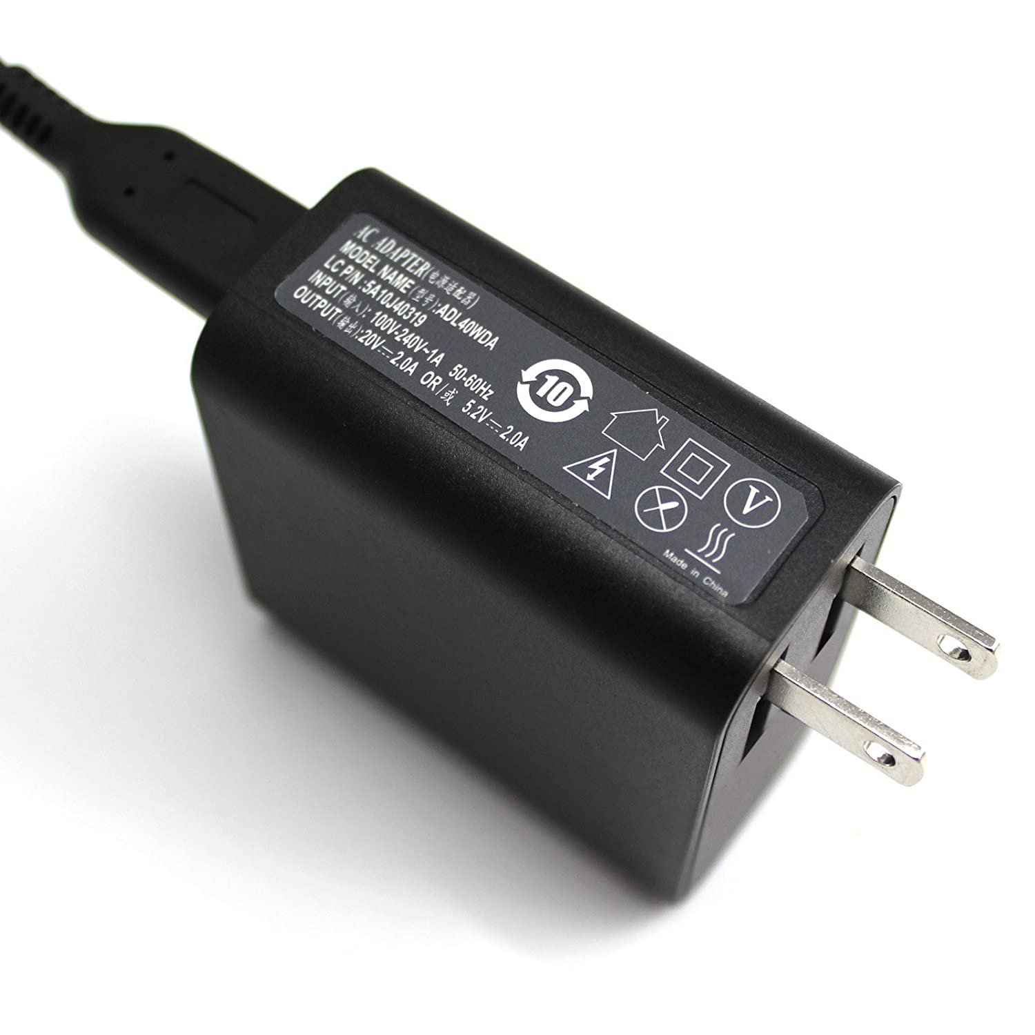 Amazon.com: Shareway 20V 2A 40W Power Supply Adapter For ...