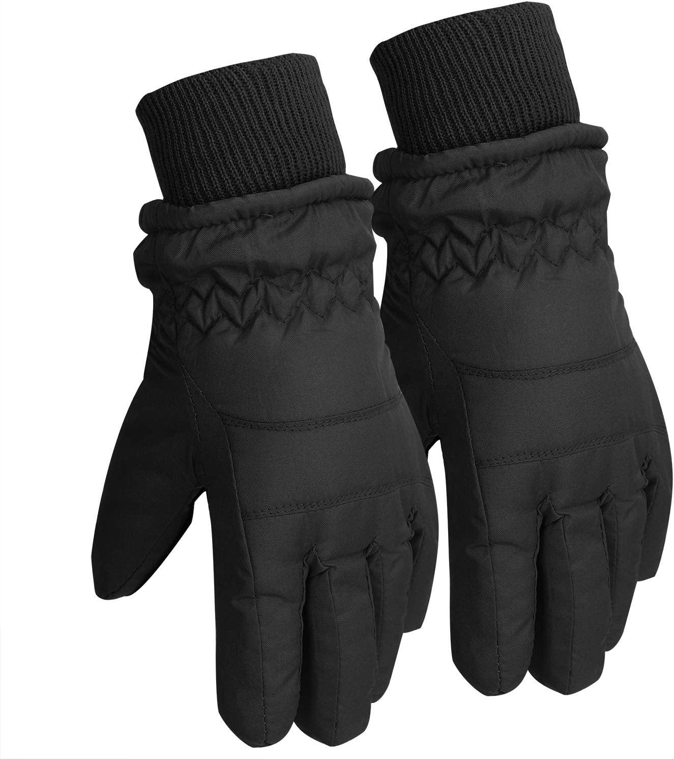Warm Winter Thermal Gloves Waterproof Snow Gloves Riding Mittens for Boys Grils