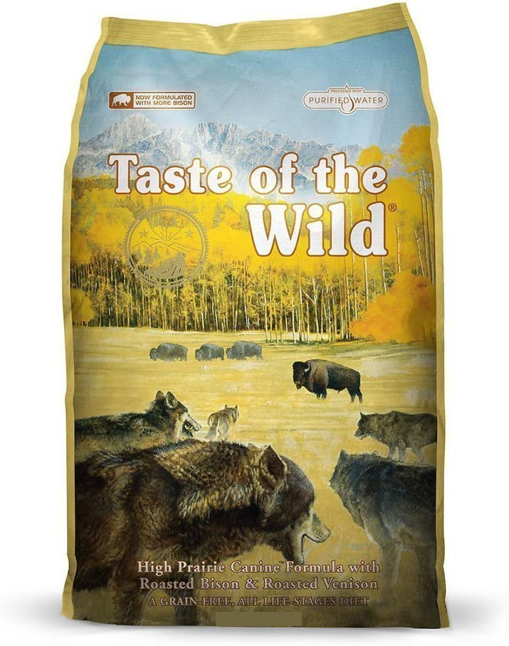 3. Taste of the Wild High Prairie Grain-Free Dry Dog Food