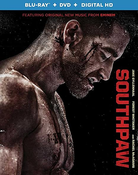 Amazon.com: Southpaw (Blu-ray + DVD + Ultraviolet): Jake ...
