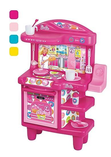 grandi giochi gg00510 - cucina di barbie: amazon.it: giochi e ... - Giochi Di Cucina Di Barbie