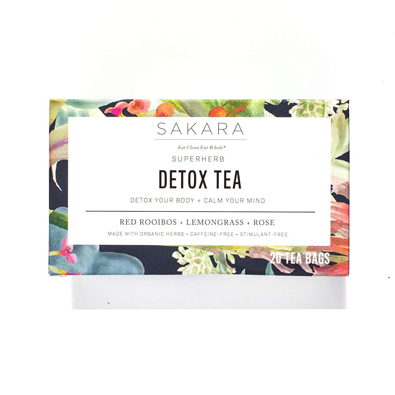 Sakara Superherb Herbal Tea for Detox and Metabolism 20pk