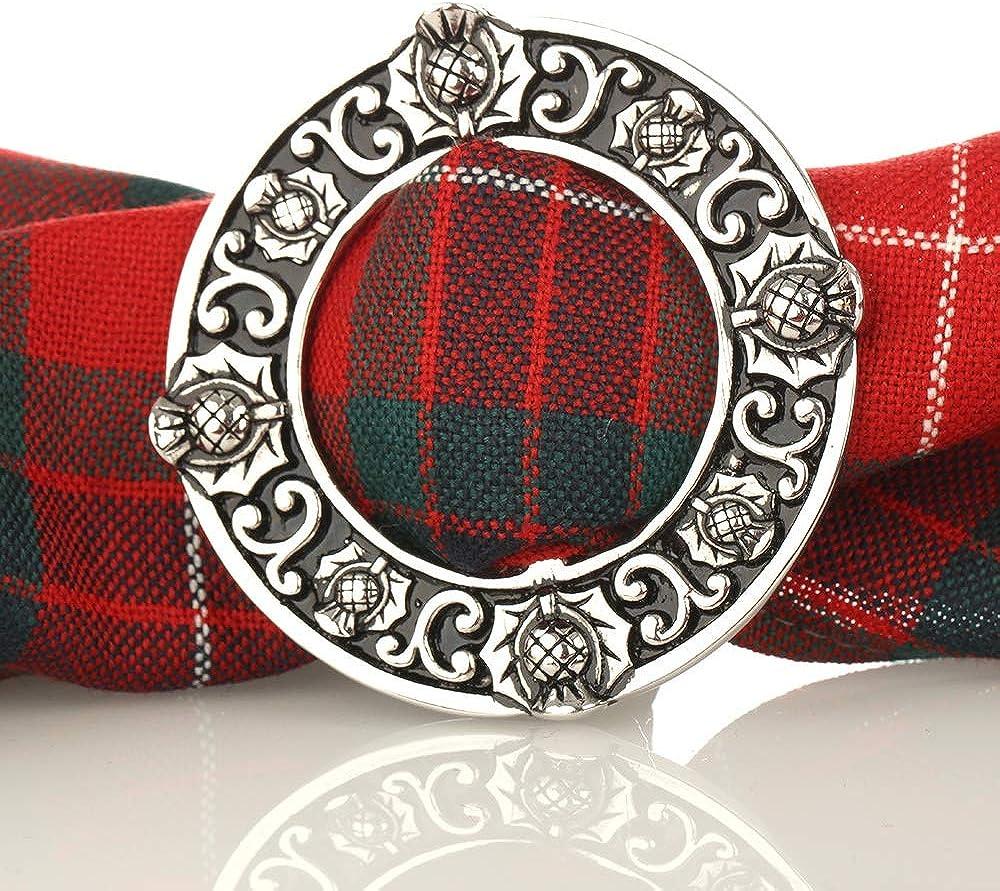 Scottish Thistle Handgefertigte Kilt Gürtelschnalle mit schottischer Distel