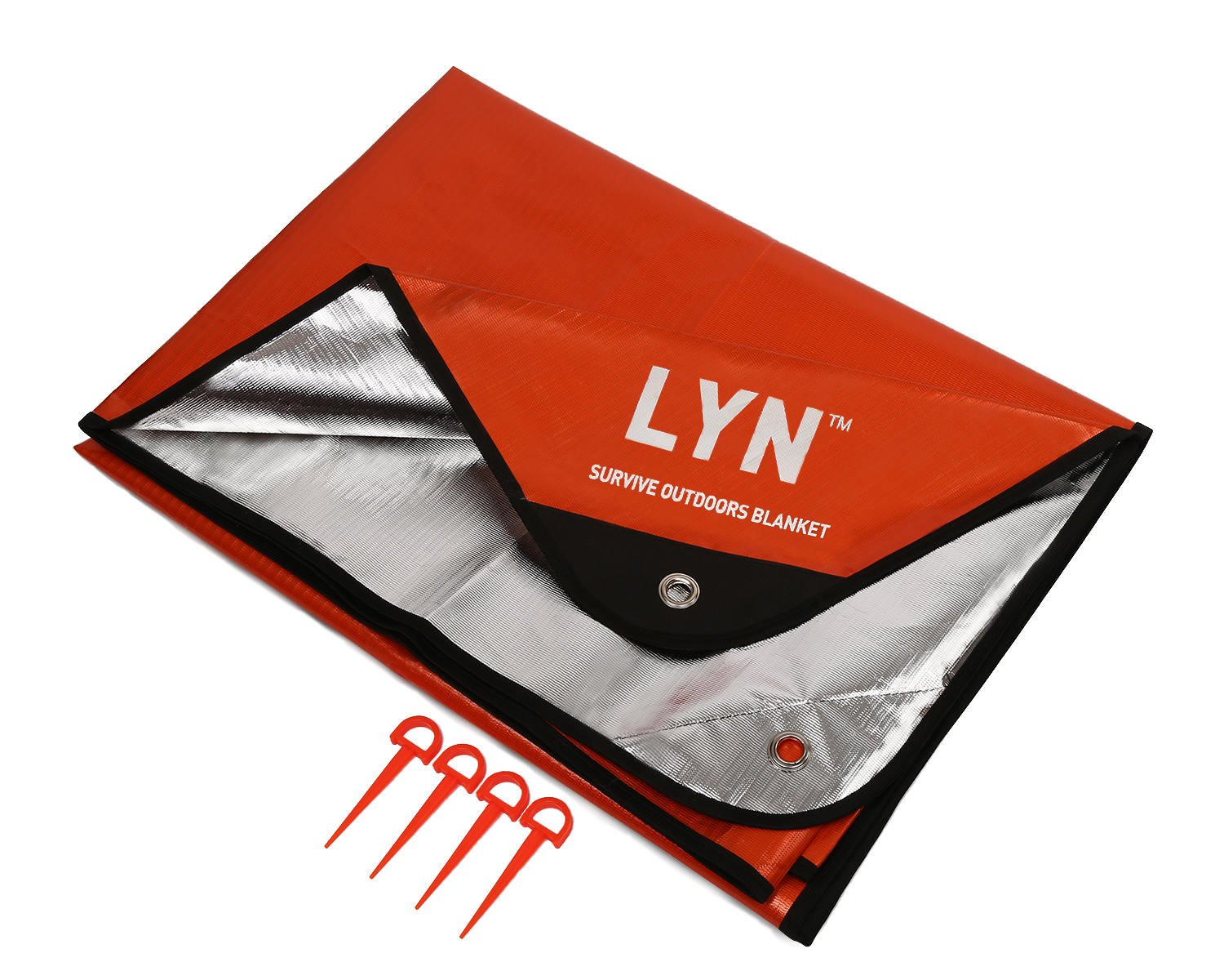 LYN Emergency Blanket Survival Blanket Waterproof Thermal Heavy Duty Insulation RV and Double-Sided for Beach Picnic Camping?