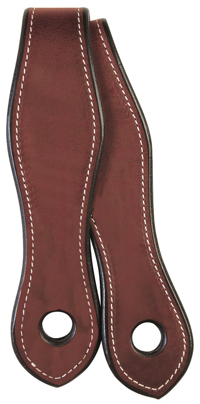 Weaver Leather Weaver Leather English Bridle Leather Slobber Straps, Chestnut 50-1545-CH, Chestnut, 2  x 17
