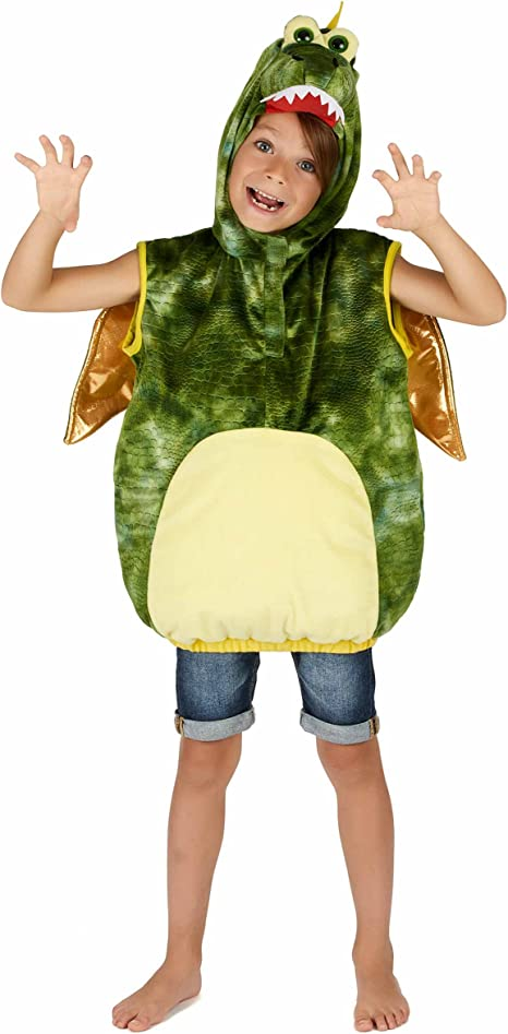 Generique Disfraz de dinosaurio verde niño: Amazon.es: Juguetes y ...