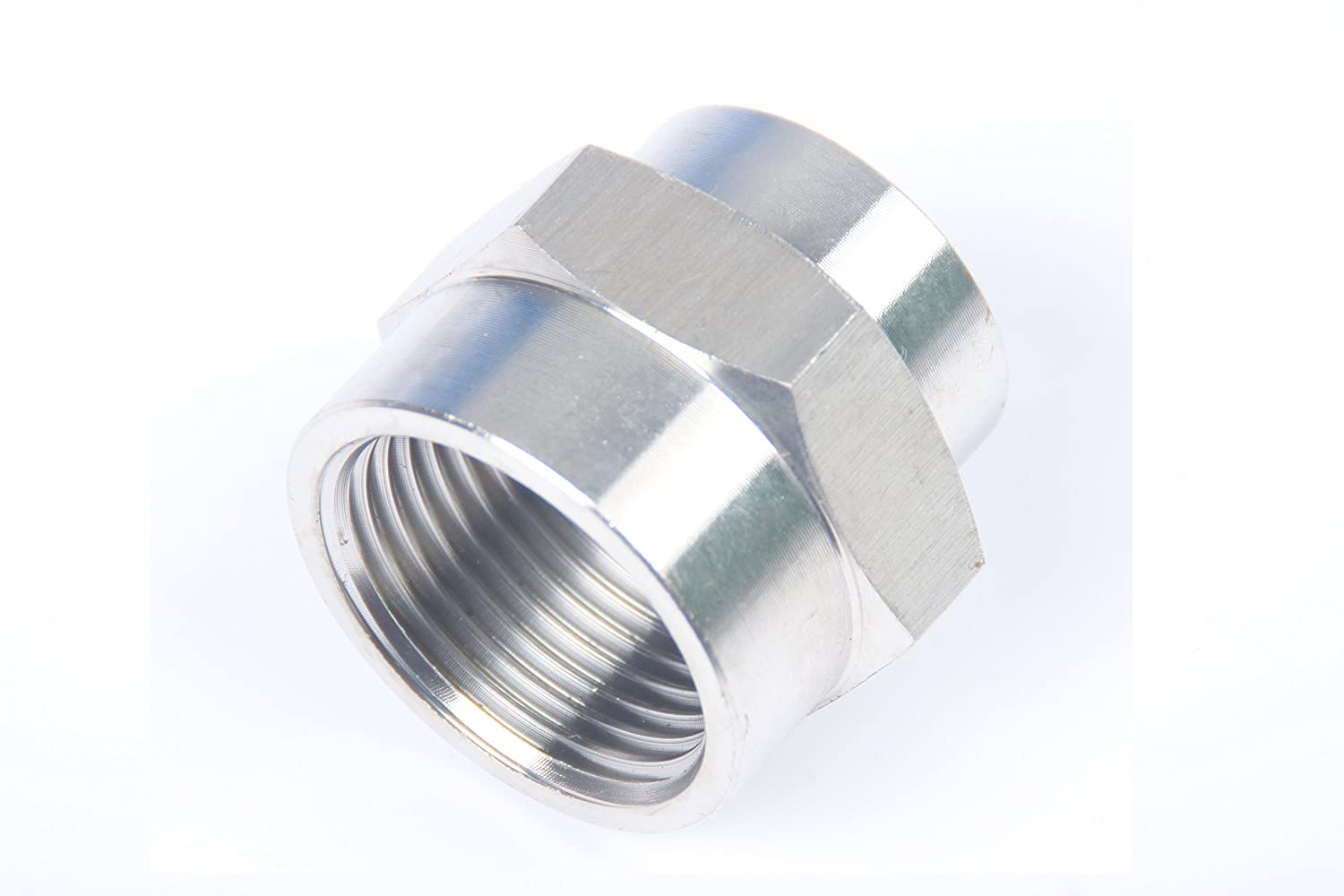 Pack of 25 LTWFITTING Bar Production Stainless Steel 316 Pipe Fitting 1//2 x 1//4 Female NPT Reducing Coupling Water Boat