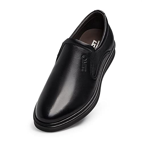 Men's Fashion Twin Gore Flat Slip On Shoe Slip Resistant