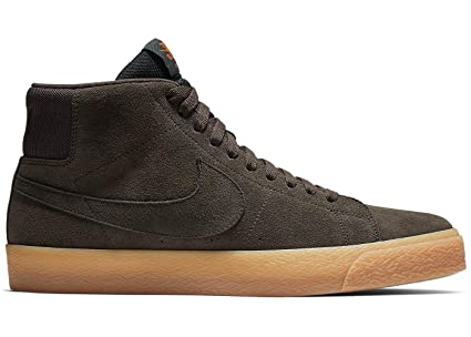 Amazon.com  Nike SB Zoom Blazer Mid Velvet Brown Mens US 9  Sports ... 8be216d5b