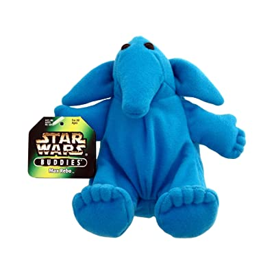 Star Wars Max Rebo Plush Battle Buddies Figure: Toys & Games