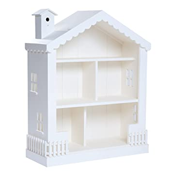 Alice Dollhouse Bookcase Snow