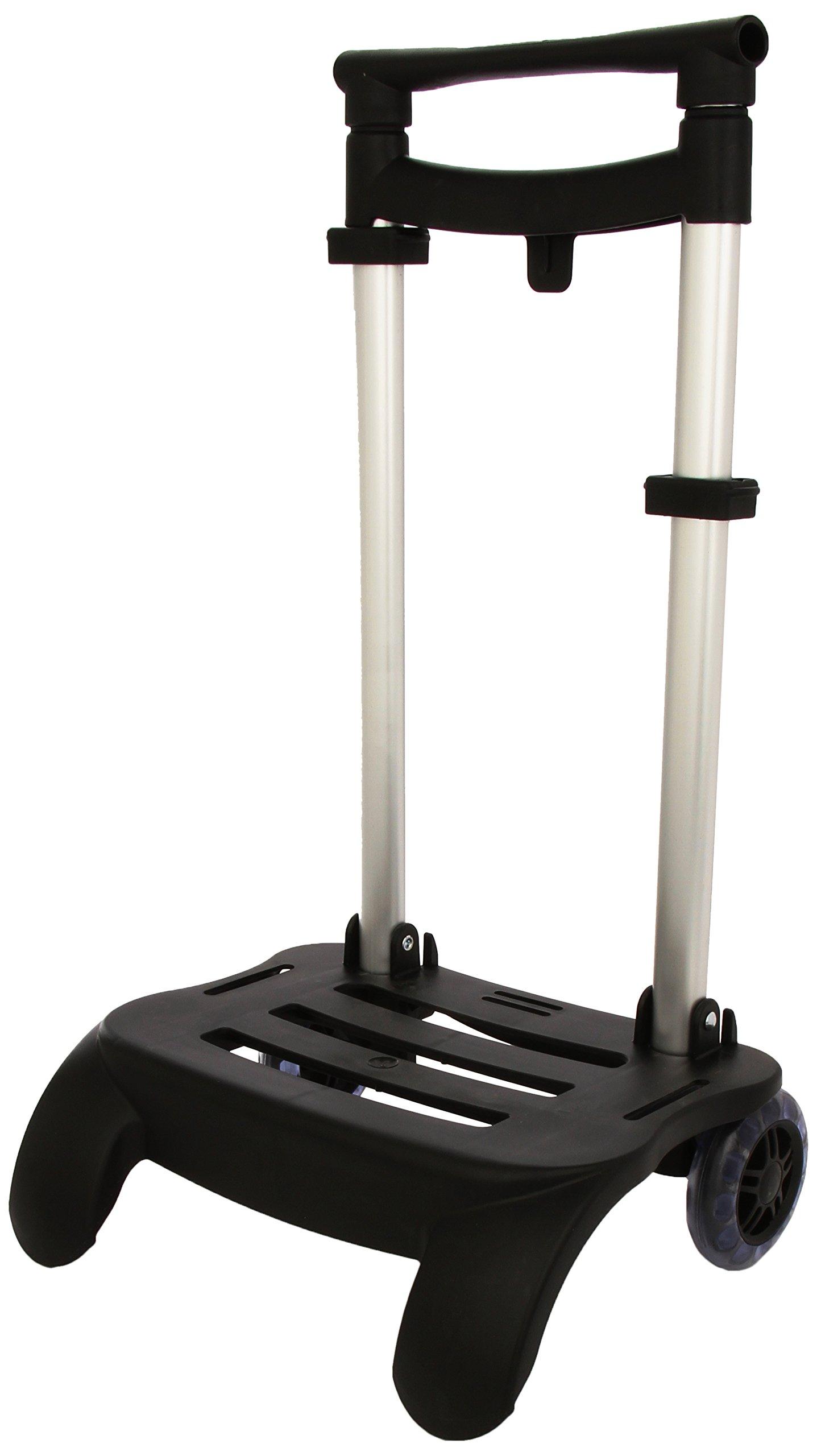 Busquets - Carro Portamochilas Plegable, color Negro product image