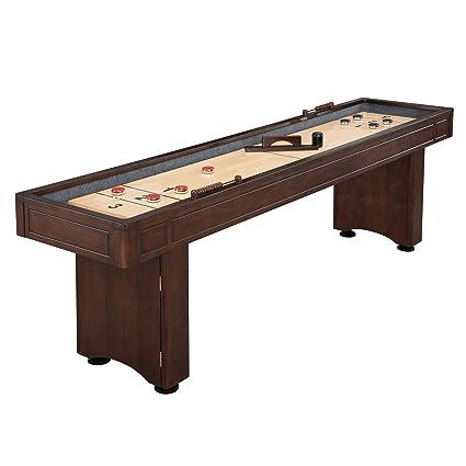 Amazoncom Hathaway Austin Shuffleboard Table Sports Outdoors - Portable shuffleboard table