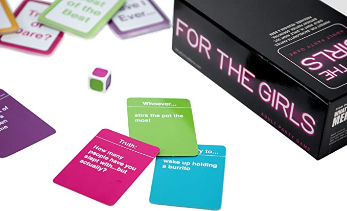 Amazon Com What Do You Meme For The Girls Adult Party Game Toys Games