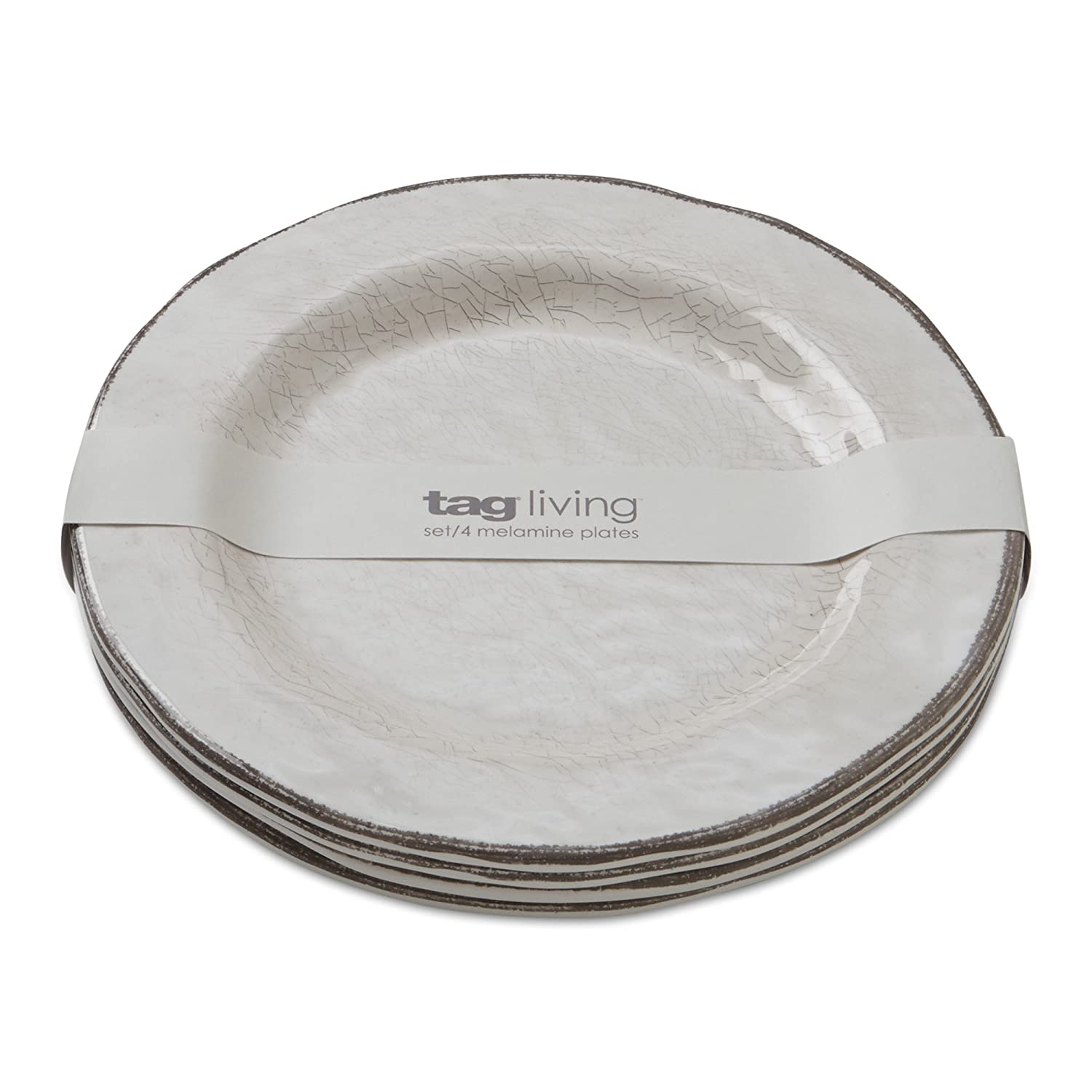 Amazon.com | tag - Veranda Melamine Salad Plate Durable BPA-Free and Great for Outdoor or Casual Meals Ivory (Set Of 4) Plates  sc 1 st  Amazon.com & Amazon.com | tag - Veranda Melamine Salad Plate Durable BPA-Free ...