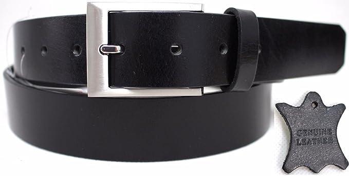 5b5eba889 New Quality Genuine Full Grain Polished Leather Men's Belt Australian  Seller 41016 (Black, 32