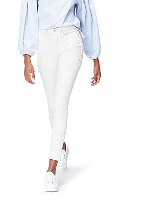 FIND Damen Skinny Jeans mit mittlerem Bund  Amazon.de  Bekleidung f99ec5b763