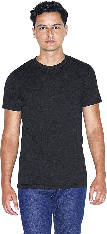 American Apparel 50/50 Crewneck Short Sleeve T-Shirt, 2-Pack: Clothing