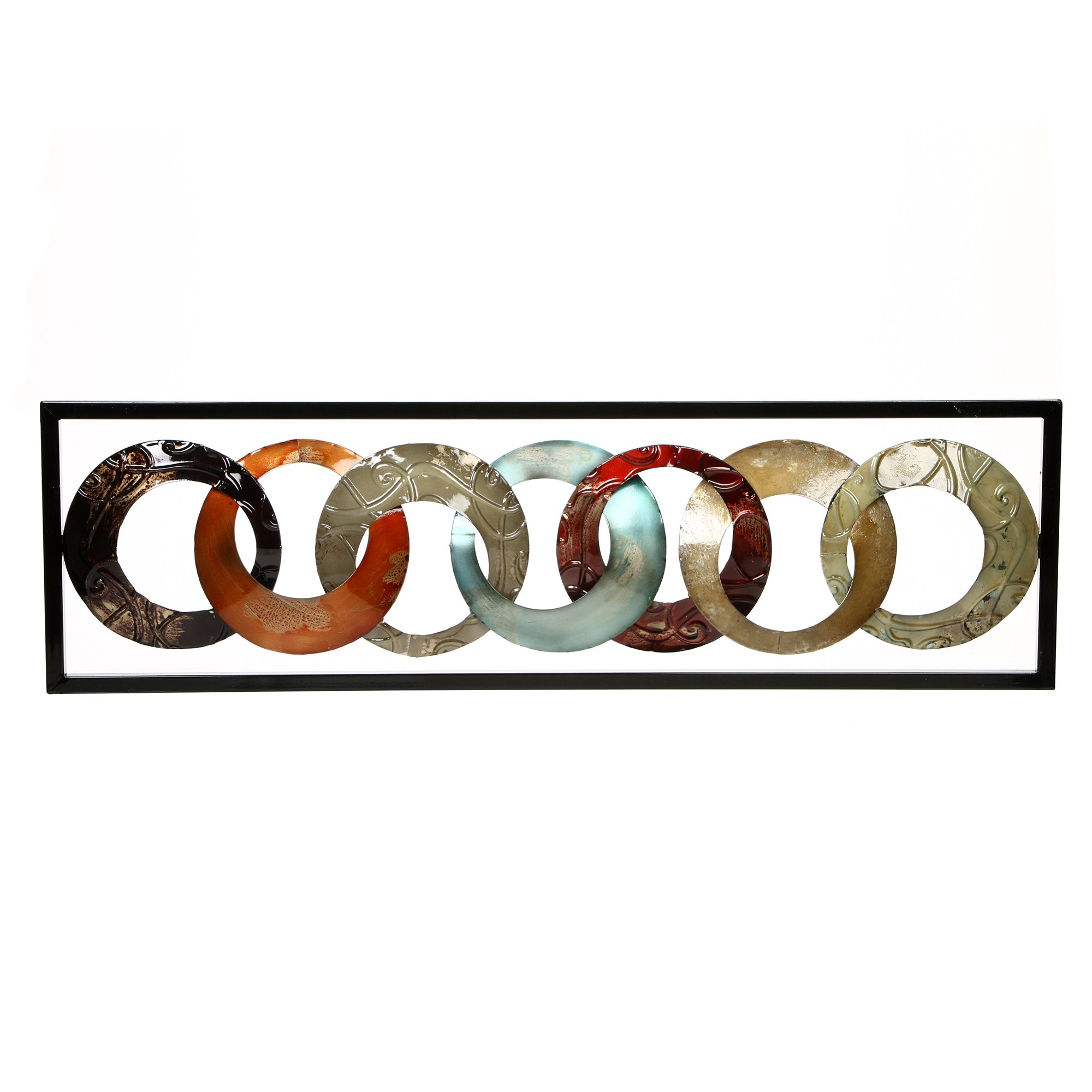 Hosley Metal Wall Décor 35'' High. Ideal Gift for Home, Weddings, Party, Spa, Meditation, Home Office, Dorm O4