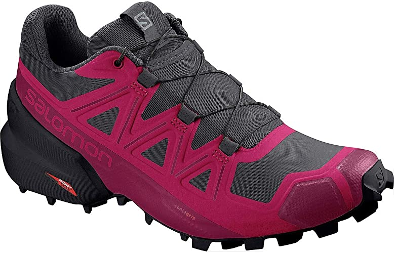 SALOMON Speedcross 5 Wide W, Zapatillas de Trail Running para ...