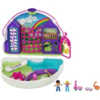 Polly Pocket Polly & Shani Rainbow Dream Wearable Purse Compact
