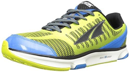 Altra - Zapatillas de Running de Material Sintético para Hombre Azul Verde Lima/Azul 16