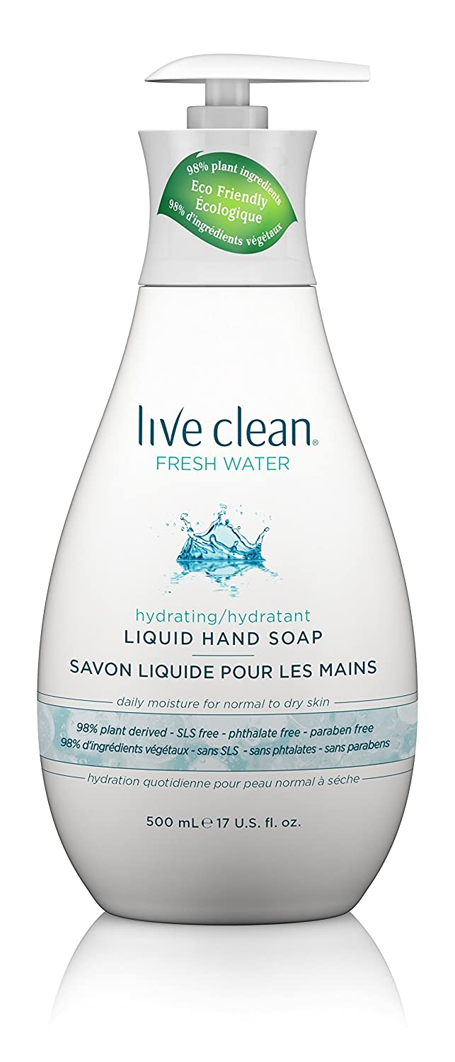 Live Clean Exotic Vitality Liquid Hand Soap, Mint Green, Monoi, 500ml Belvedere Intl 11LCN0263