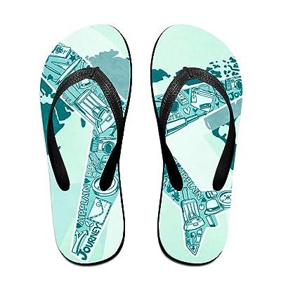 Aircraft Summer Flip Flops Comfortablebabouche
