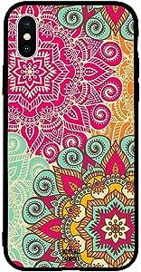 iPhone X / 10 Case Cover Big Floral Pattern Moreau Laurent Premium Design Phone Covers