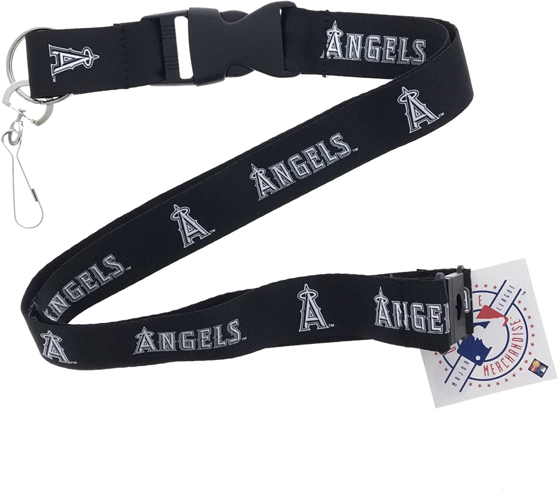 MLB Anaheim Angels Lanyard Pink