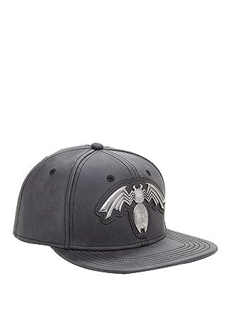 2b110957c07b5 Marvel Venom Logo Snapback Hat at Amazon Men s Clothing store