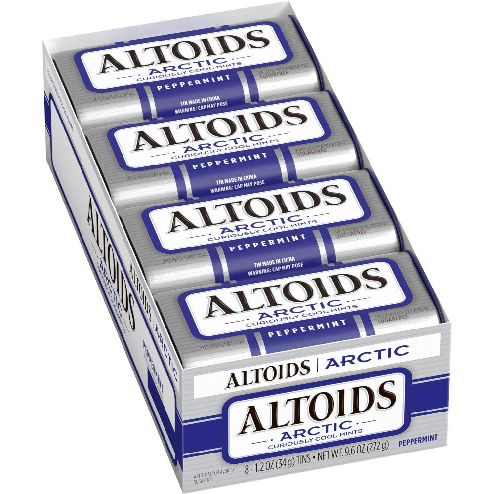 Altoids Arctic Peppermint Breath Mints, 1.2-Ounce Tin