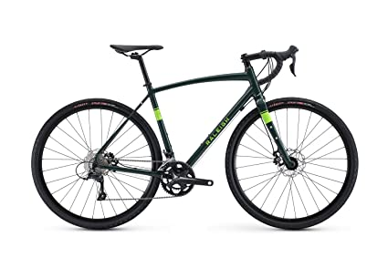 Raleigh Bikes Willard 2 Gravel Adventure Road Bike, Green, 54cm/Medium best cyclocross bikes
