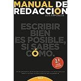 Manual de redacción (Manuales Universitarios) (Spanish Edition)