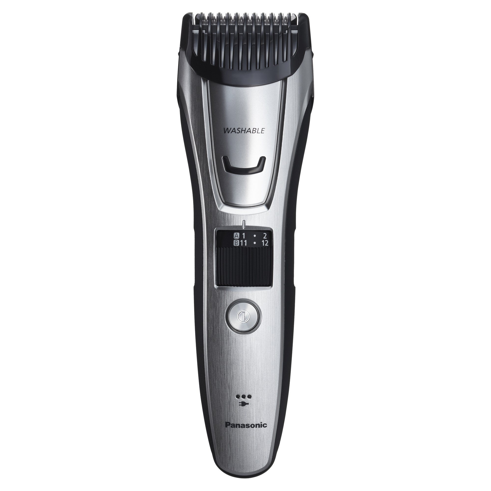 Panasonic ER-GB80-S Body and Beard Trimmer, Hair Clipper, Men's, Cordless/Corded Operation with 3 Comb Attachments and 39 Adjustable Trim Settings, Washable by Panasonic (Image #6)