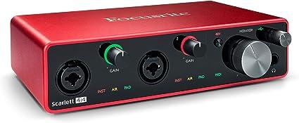 Focusrite Scarlett 4i4 3rd Gen - Interfaz de audio USB: Amazon.es: Instrumentos musicales