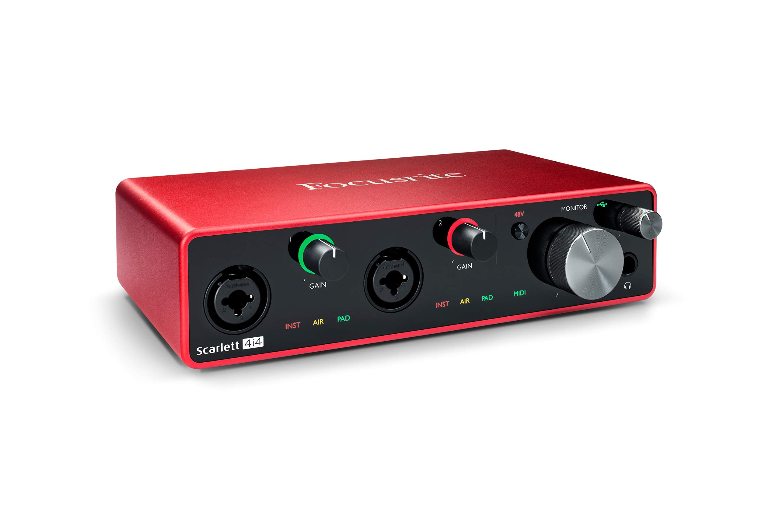 Focusrite Scarlett 4i4 (3rd Gen) USB Audio Interface with Pro Tools   First