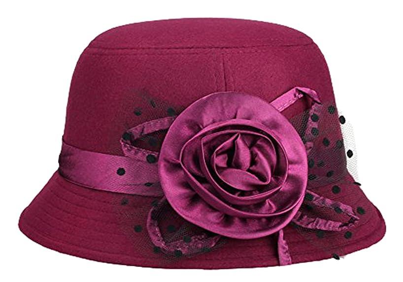 1920s Style Hats IL Caldo Womens retro winter hat fascinators $9.99 AT vintagedancer.com