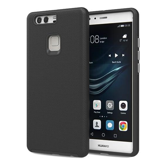 outlet store a9b61 aa6a3 Amazon.com: Huawei P9 Plus Case - MoKo Advanced [Anti-Slip] [Scratch ...
